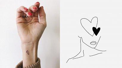 Motyw serca w tatuażach! Zobacz, jak to zrobić kreatywnie!