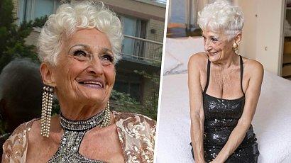 Ma 85 lat i nie zamierza przestać randkować! Ostatni z jej kochanków był o 43 lata młodszy!