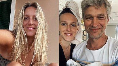 Aleksandra Żebrowska nago w wannie, a obok Michał we fryzurze z grzywką! Fani zachwyceni: Cudowne!