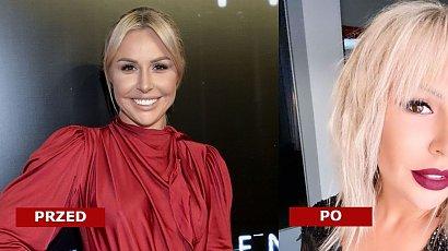 Blanka Lipińska zmieniła fryzurę! Dobrze jej w cienkiej grzywce, włosach do ramion i platynowym blondzie?