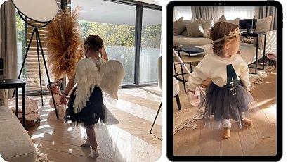 Anna Lewandowska pokazała strój na Halloween Klary i Laury! Podoba Wam się pomysł?