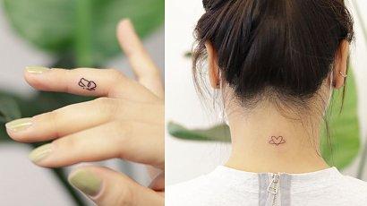 Ultra-delikatne tatuaże! Może to coś dla Ciebie?