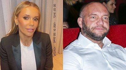 """Doda na konferencji prasowej o """"Dziewczynach z Dubaju"""". Emil Stepień podszedł do niej i wyszeptał straszne słowa! Jest stalkerem?"""