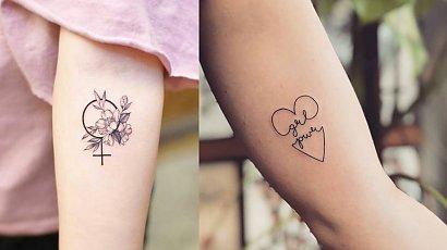 Feministtattoo - zobacz, jak prezentują się feministyczne tatuaże!