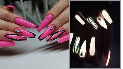 Fluorescencyjne paznokcie to idealny pomysł na Halloween! Zobacz świecące trendy!