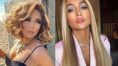 Niesamowita objętość włosów na Jennifer Lopez!