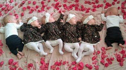 Jak dziś wyglądają sześcioraczki z Tylmanowej? Dumni rodzice chwalą się maluszkami!