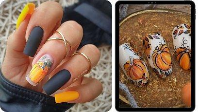 Jesienne paznokcie - najmodniejsze kolory 2021