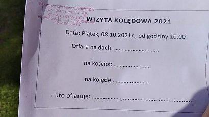 """Skandaliczna kartka w parafii na Śląsku. Trzeba podpisać """"dobrowolną"""" ofiarę"""