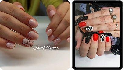 Krótkie paznokcie żelowe - poznaj aktualne trendy!