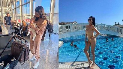 Magdalena Stępień pokazuje brzuch po ciąży!