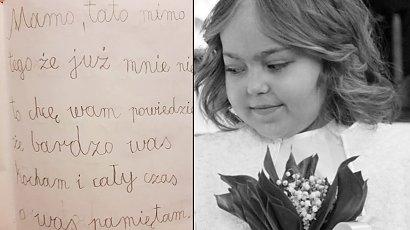 """Rozdzierający serce list pożegnalny 8-letniej Małgosi... """"Nie płaczcie za mną tylko cieszcie się życiem"""""""