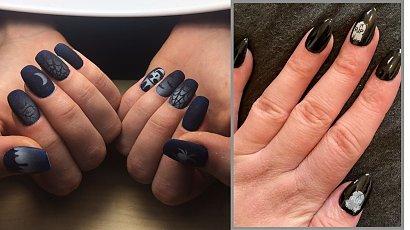 Manicure na Halloween - poznaj grozę czerni i zainspiruj się!
