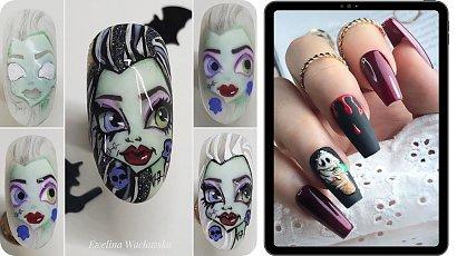 Poznaj propozycje paznokci na Halloween! Odważysz się wybrać jedną z propozycji?
