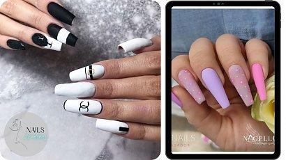 Kształty paznokci - trumienki. Sprawdź, czy ten rodzaj manicure'u jest dla Ciebie!