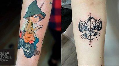 Bajkowe tatuaże! Zainspiruj się naszą kolorową galerią zdjęciową!