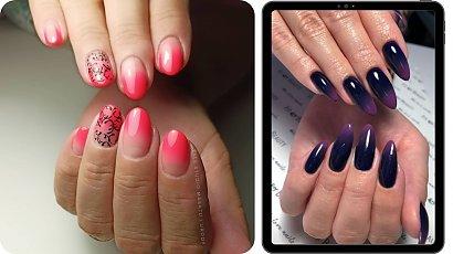Paznokcie hybrydowe ombre - poznaj najpiękniejsze stylizacje!