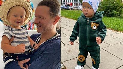 """Radosław Majdan zabrał Henia do fryzjera. Efekt pierwszej wizyty zrobił na fanach wrażenie: """"Ale super fryzurka. Mały przystojniak"""" - piszą"""