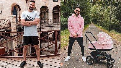 """Rafał Maślak na rodzinnym zdjęciu: """"Dzieci to się Tobie udały. Żona też. Same słodkości. Jedno piękniejsze od drugiego"""" - chwalą fani"""