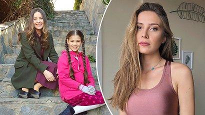 """Melek z serialu """"Elif"""" w satynowej sukience z odkrytymi plecami! Selin Sezgin rozpaliła zmysły fanów!"""