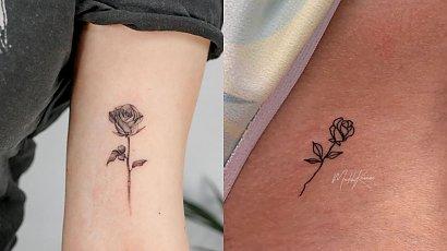 Rose Tattoo! Zobacz, jak prezentują się jeden z najpopularniejszych motywów!