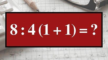 Matematyczna zagadka, nad którą głowią się internauci! Potrafisz rozwiązać to proste działanie?