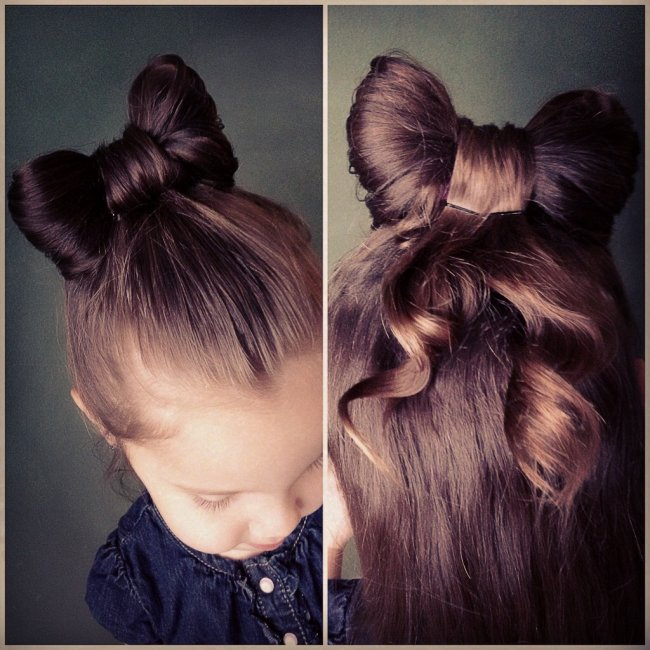 Mała Elegantka Modne Fryzury Dla Dziewczynek
