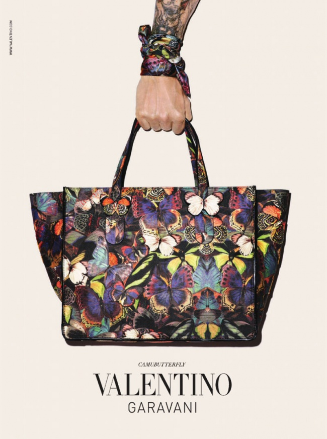 Valentino Camubutterfly