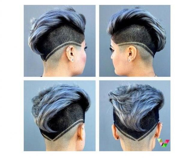Wycinamy Wzorki Na Włosach Oryginalnie Ekstremalnie I Z Pomysłem