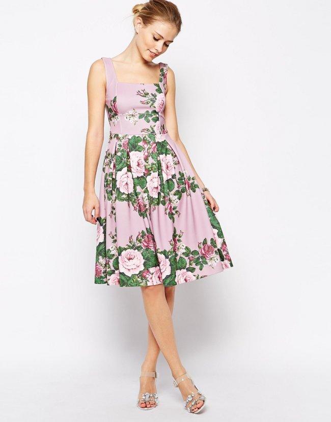 4f0db7e3 Najładniejsze sukienki i dodatki na wiosenne wesele - Pastele i ...