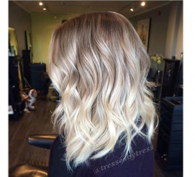 Blond Ombre Czyli Jak Modnie Urozmaicić Jasny Kolor Włos 243 W