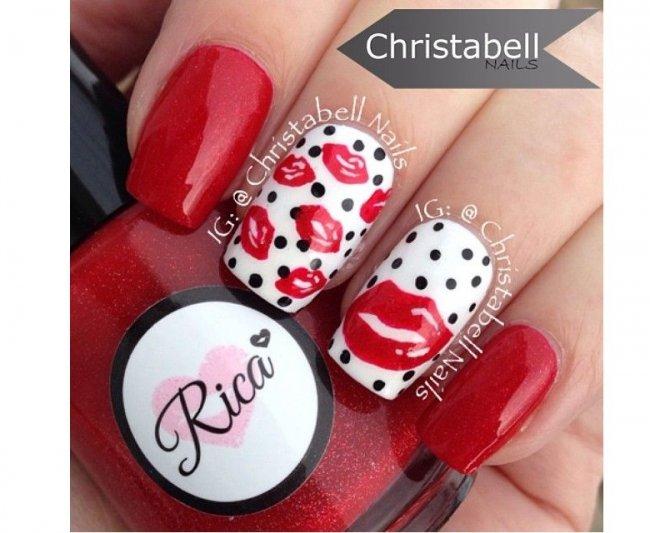 Czerwony Manicure Na Walentynki 20 Pomysłów Na Romantyczne Wzorki