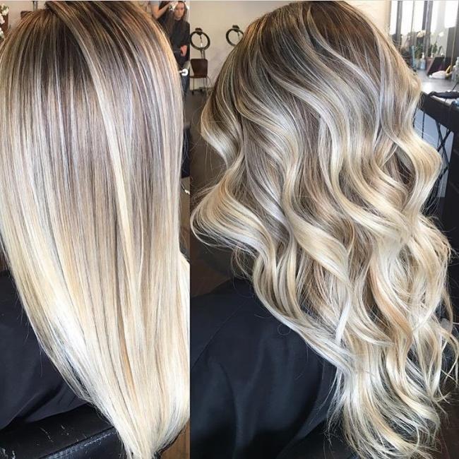 Najpiękniejsza Koloryzacja Blond Na Wiosnę Sombre
