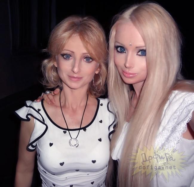 Valeria Lykyanova z mamą Iriną