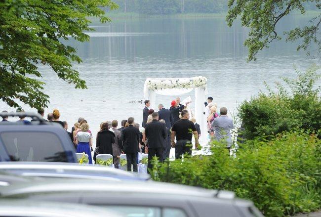 Ślub Michała Wiśniewskiego i Dominiki Tajner-Wiśniewskiej