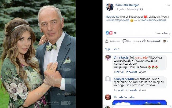 72-letni Karol Strasburger i 37 lat młodsza Małgorzata Weremczuk WZIĘLI ŚLUB