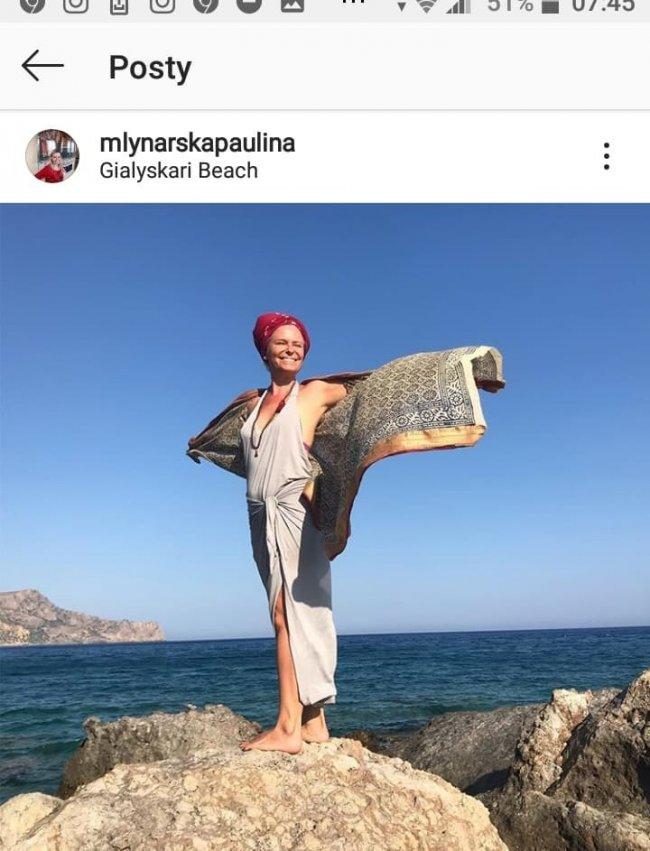 Córka Młynarskiej do tej pory..