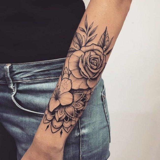 Tatuaż Na Przedramię 21 Oryginalnych I ślicznych Wzorów