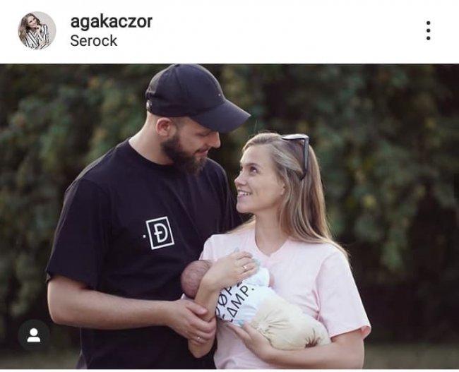 Agnieszka Kaczorowska spędza rodzinnie czas we Włoszech.