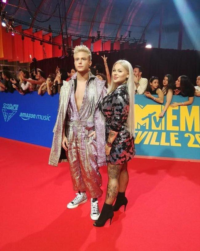 Zobaczcie, jak Ewelina z Warsaw Shore wyglądała na MTV EMA!
