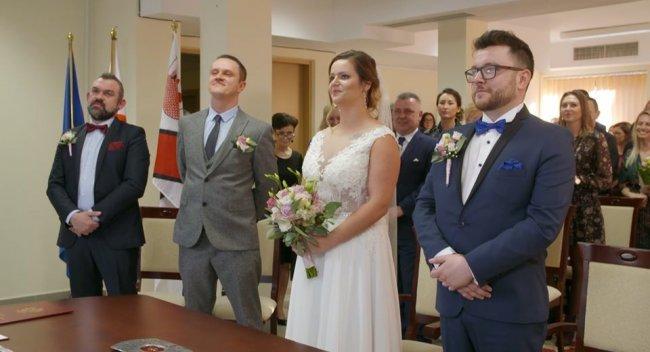 Tak Agnieszka i Wojtek wyglądali na swoim ślubie, a teraz?