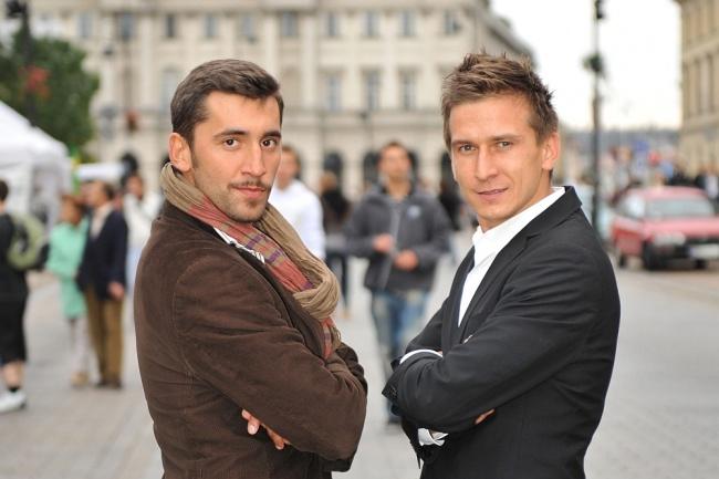 Rafał Maserak i Tomasz Barański