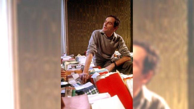 Pierre Cardin w swojej pracowni