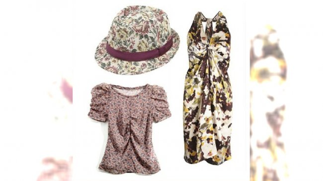 Kapelusz - Sisley; bluzka - Reserved; sukienka - Stefanel;