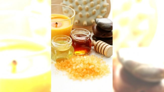 honey bath time
