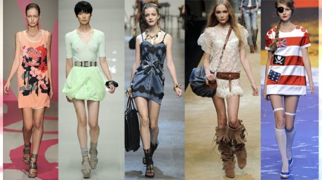 DKNY, Burberry Prorsum, Dolce&Gabbana, D&G, J.C.Castelbajac /Agencja Medium