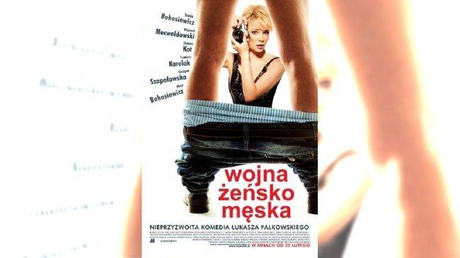 """Plakat filmu """"wojna żeńsko męska"""" /Filmweb"""