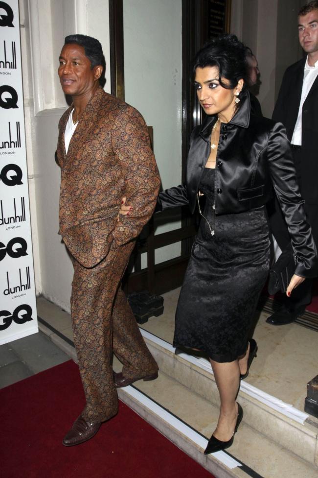 Jermaine Jackson na rozdaniu nagród GQ Men Of The Year 2009