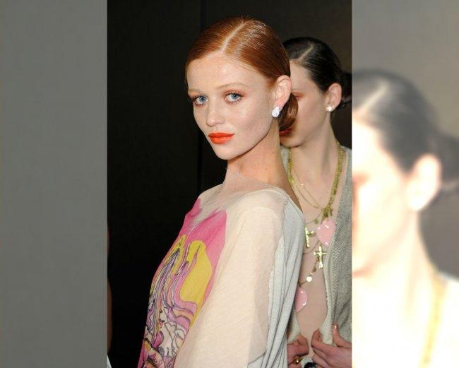 Modelka pokazu Fabia Berseck