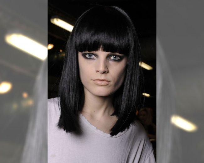 Modelka z pokazu Lanvin